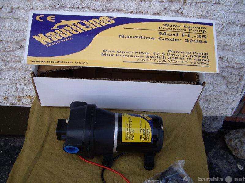 Продам Лодочный водяной насос электрический.