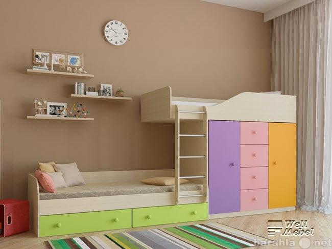 Продам Детская двухъярусная кровать «Астра 6»