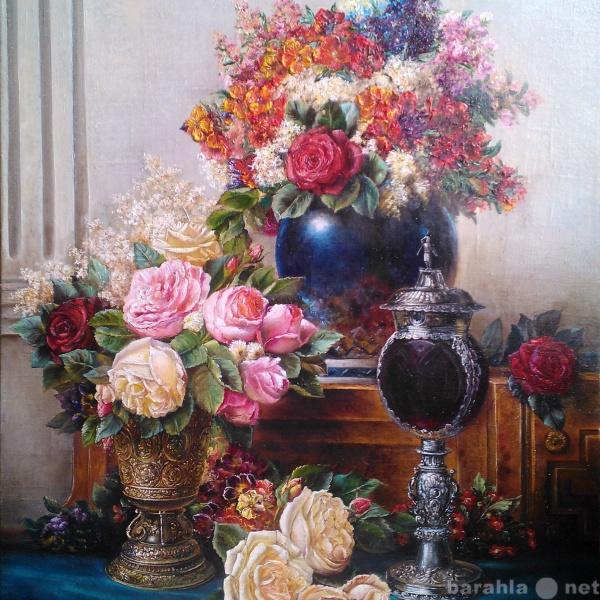 Продам Картина . Натюрморт с розами