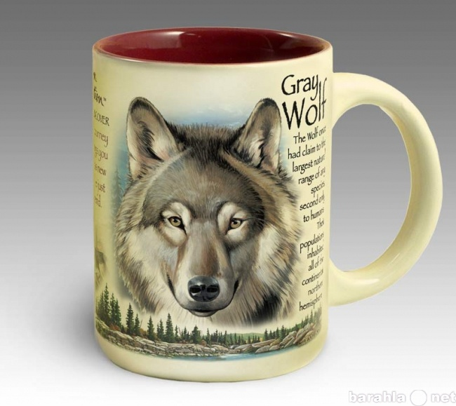 Продам Кружка керамическая Gray Wolf