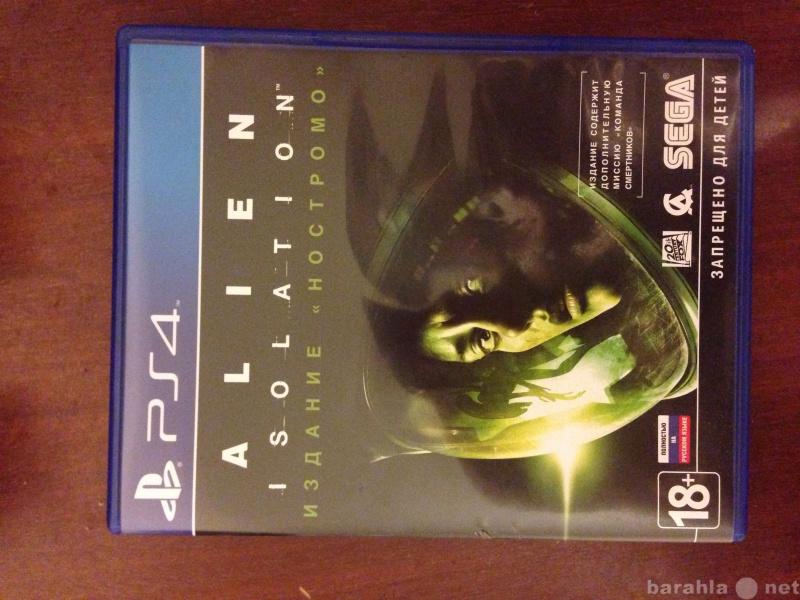 Продам Игра на ps4 alien isolation