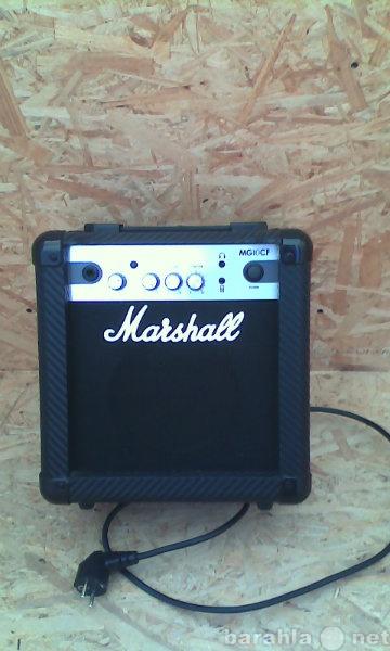 Продам комбик MARSHAL MG 10 CF