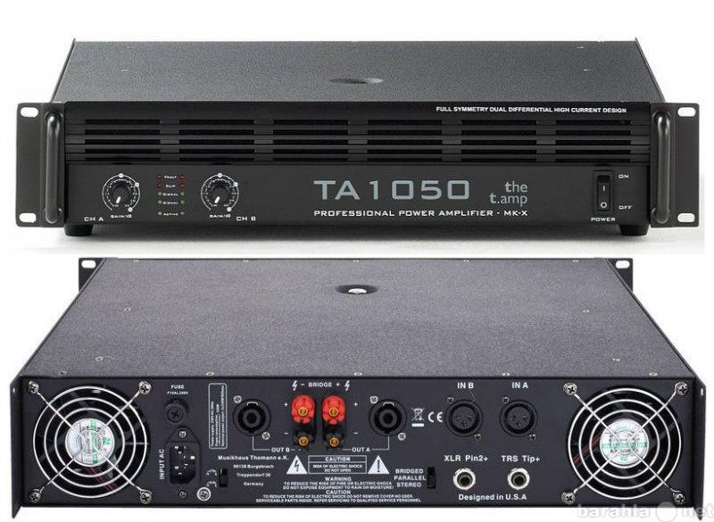 Продам Усилитель мощности t. amp TA1050