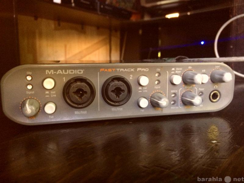 Продам: Продам звуковую карту M-Audio Fast Track