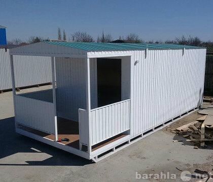 Продам дачный домик 7/3- вагон бытовки