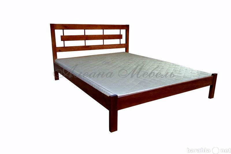 Продам кровать из массива новая