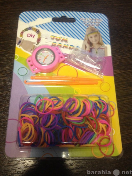 Продам: Набор для плетения из резиночек Часы