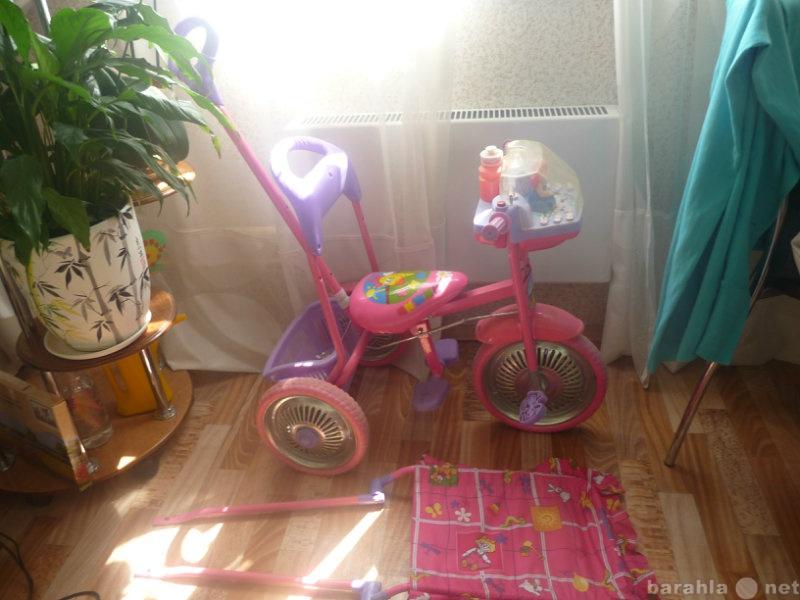 Продам детский трёхколёсный велосипед
