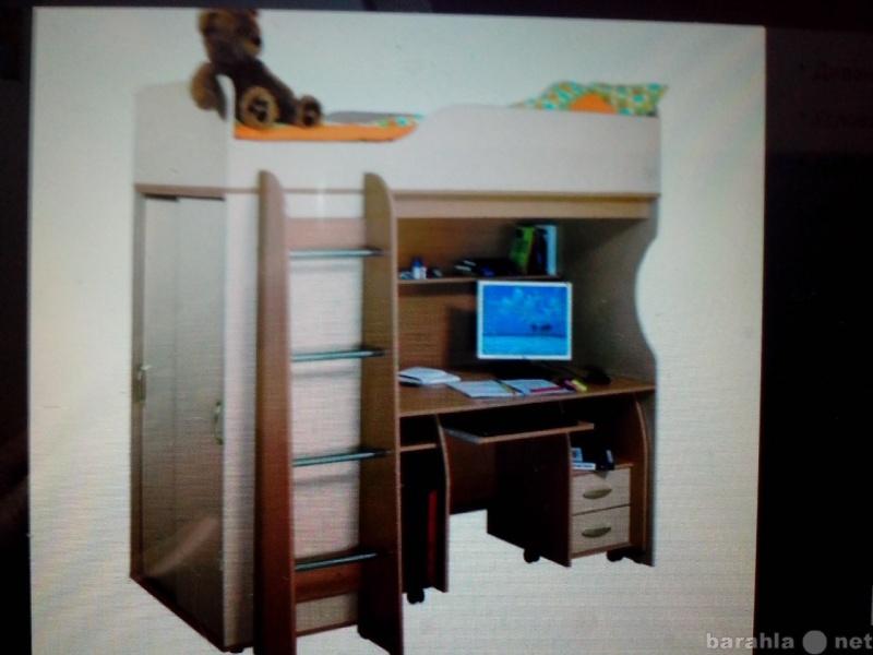 Продам детский модуль кровать чердак Мишутка
