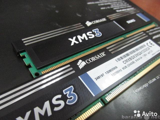 Продам Corsair CMX8GX3M2A1333C9