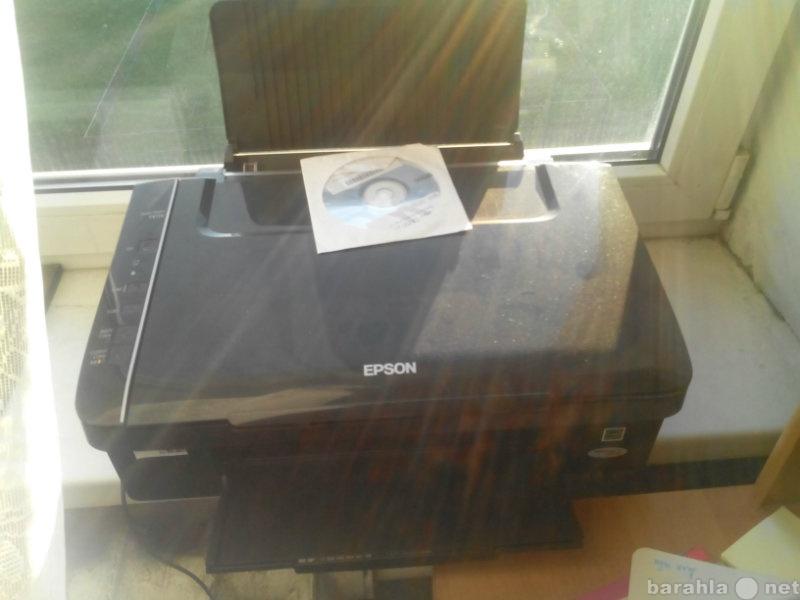 Продам: цветной принтер epson