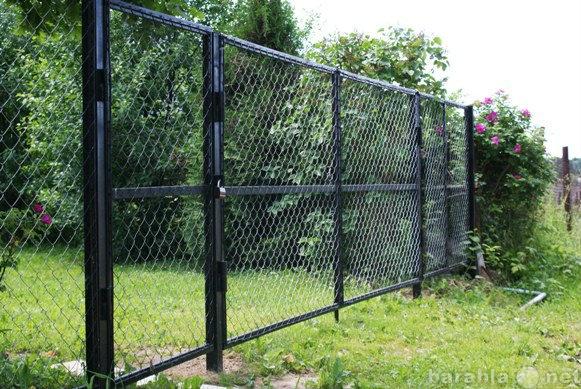 Продам Ворота металлические садовые