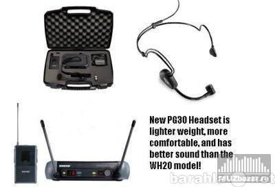 Продам микрофон Shure PGX14/30 гарнитура