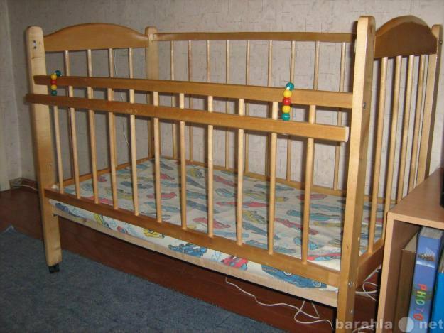 Приму в дар детскую кроватку