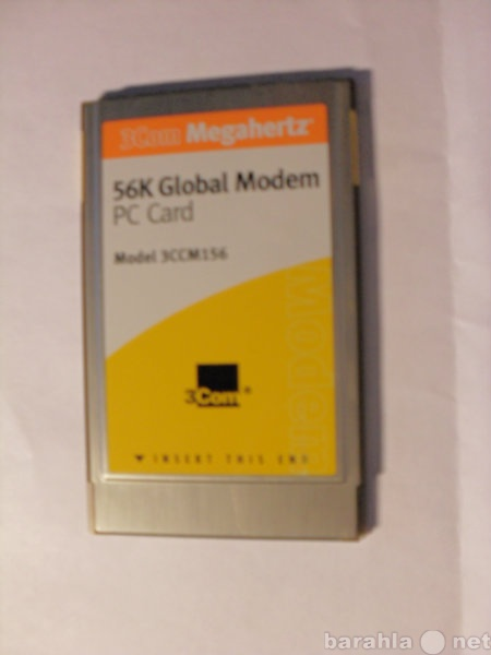 Продам 3COM megahertz 56K global PC card modem