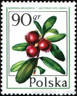 Продам Марки 50gr 90gr Польша 1977 Лесные ягоды