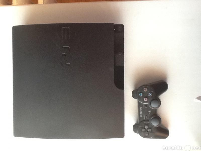 Продам PS3 Slim 160 gb + GTA5