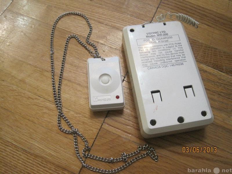 Продам Носимая радиокнопка подачи тревоги-брело