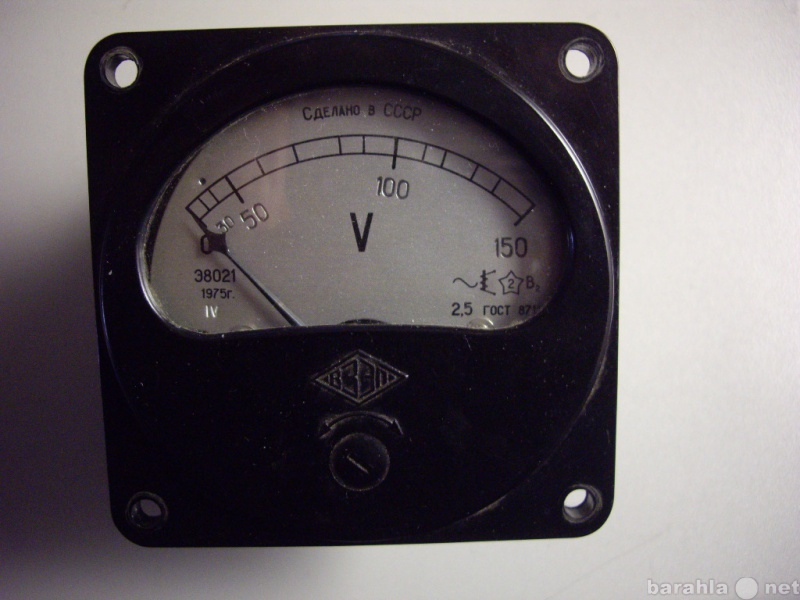 Продам: Вольтметр Э8021  переменного  напряжения