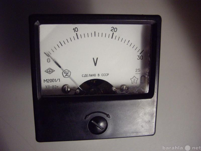 Продам: Вольтметр М20011 - постоянный