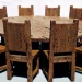 Продам Большой круглый стол и стулья. Сосна.