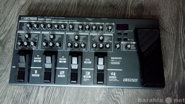 Продам: Гитарный процессор BOSS ME80
