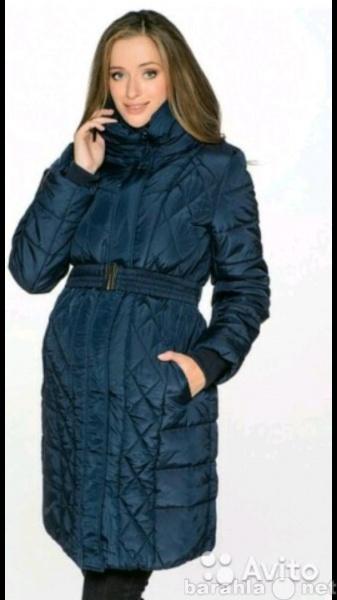 Продам Пальто пуховик осень зима для беременных