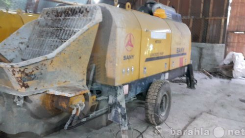 Продам Стационарный бетононасос