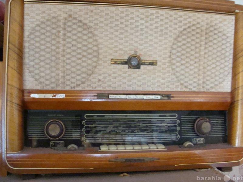 Продам радио с пластинками