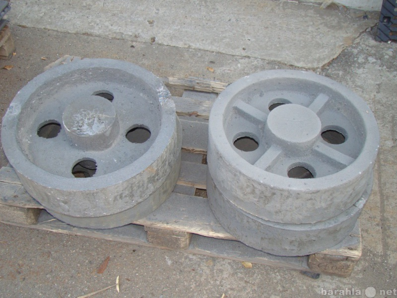 Продам шкивы  колёса  ролики чугунные