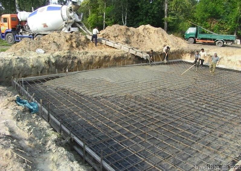 бетонирование цена за куб