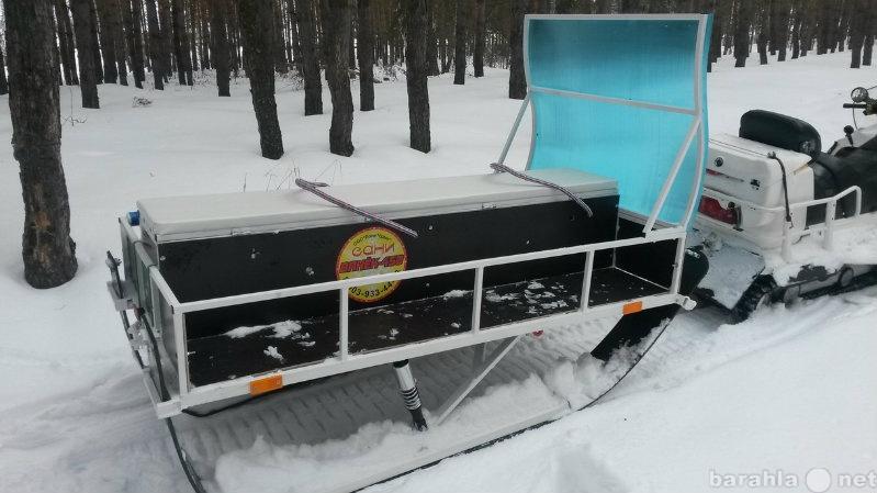 """Продам Сани для снегохода пассажир """"Ванёк"""