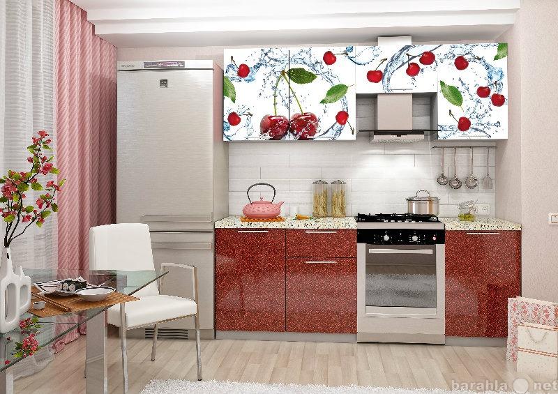 Продам Кухня Софя Принт 2,1 м Вишня
