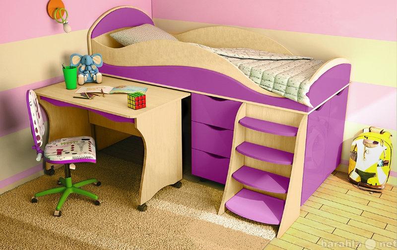 Продам Детская кровать Караван 4М из мдф.