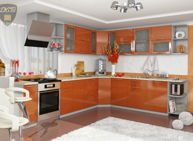 Продам Кухня эконом-класса Олива (оранж)
