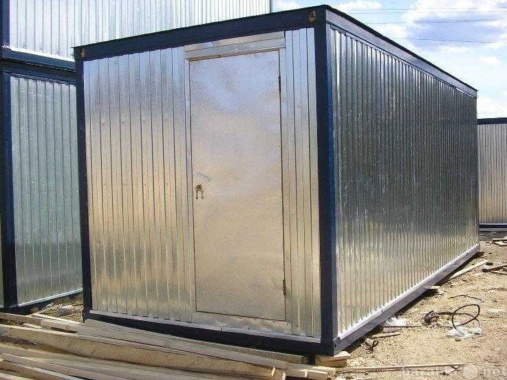 Продам Блок контейнер без электрики 6м-13