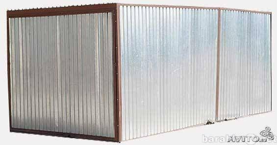 Гараж пенал бу купить в переславле металлический гараж пол