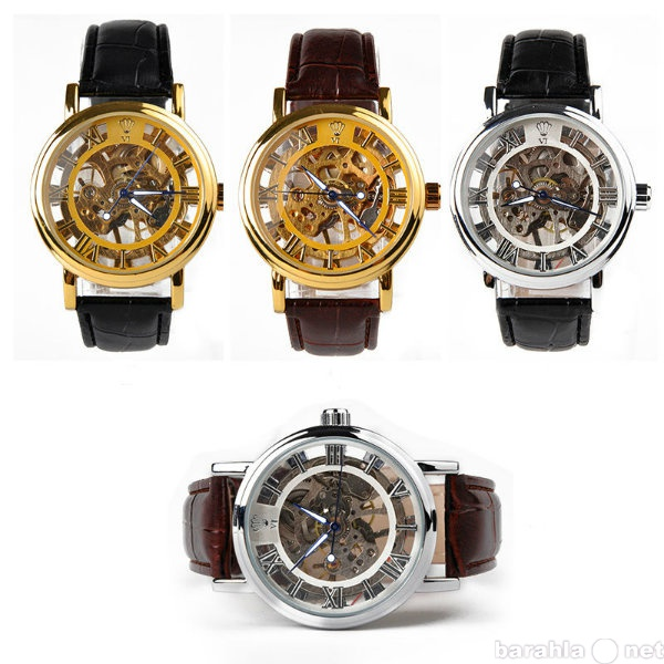 Продам Прозрачные механические часы