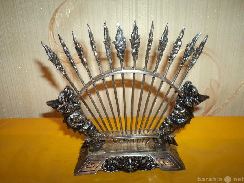 Продам: Серебряные шпажки для канопэ