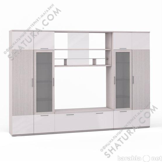 купить гостиная модульная система шатура мебель Rimini Ice в