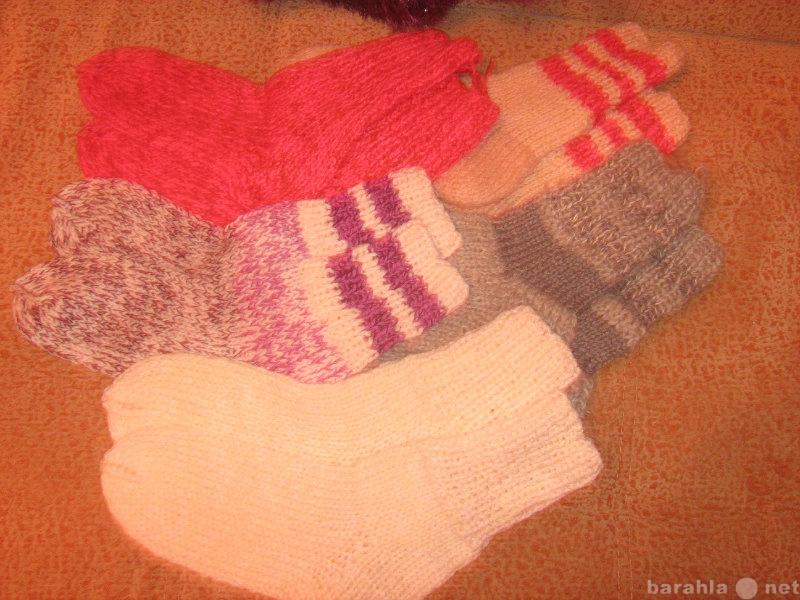 Продам Женские шерстяные вязаные носки