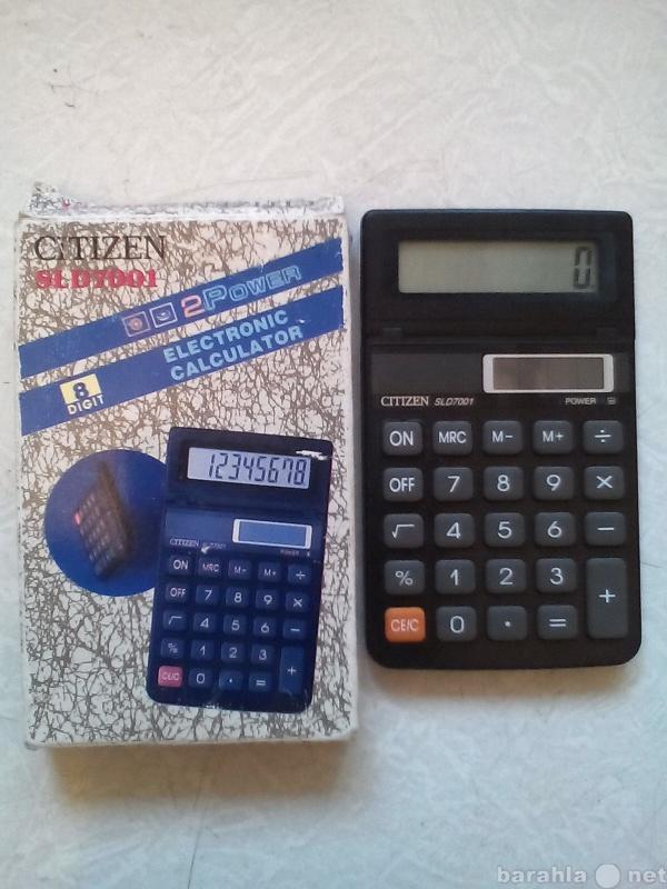 """Продам: Калькулятор """"CITIZEN"""""""