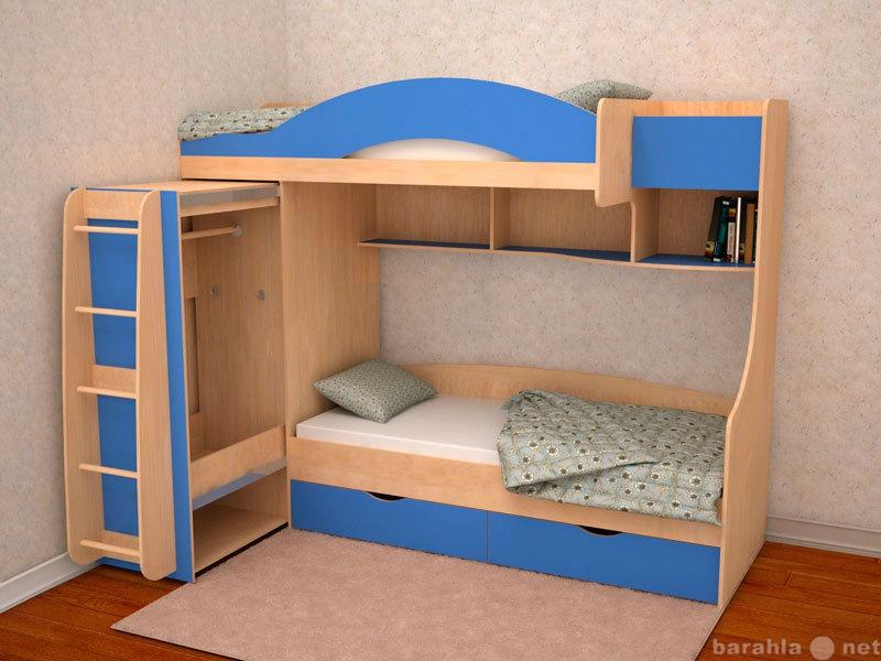 Продам: Кровать детская 2-х местная Облачко 5