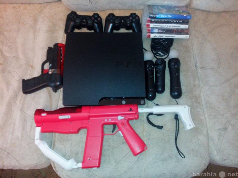 Продам: Продаю Sony Playstation 3 (PS3) прошитая