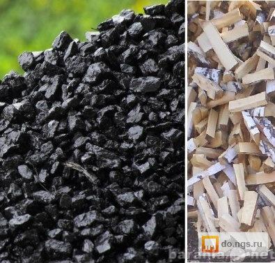 Продам: уголь, дрова, мешками.