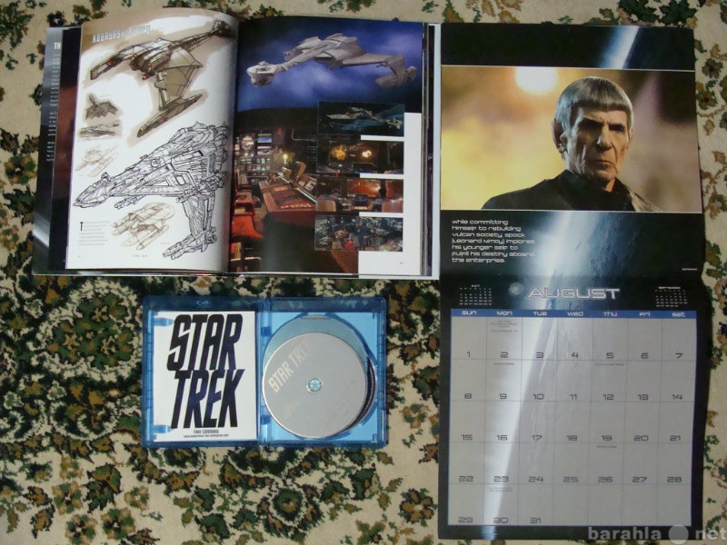Продам Звездный путь Star Trek Blu-Ray+календар