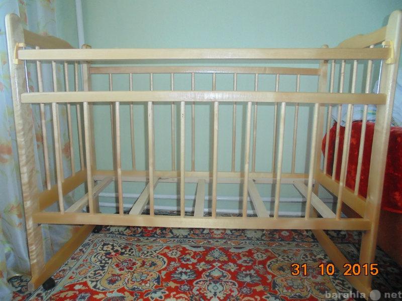 Продам Детская кроватка и Матрац