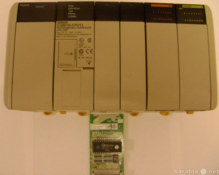 Продам Контроллер OMRON CQM1H-CPU11 16in/16out