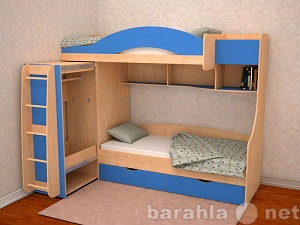 Продам: Кровать для 2 детей Облачко 5
