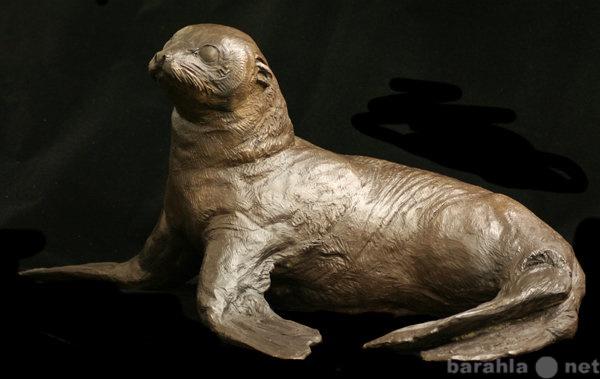 """Продам: Скульптура""""Молодой тюлень"""""""